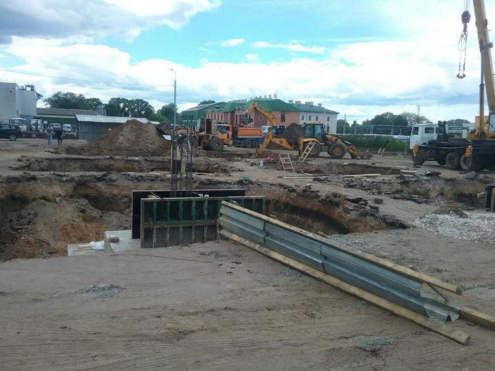 Строительство транспортно-пересадочного узла началось в Клину|MoiKlin.RU