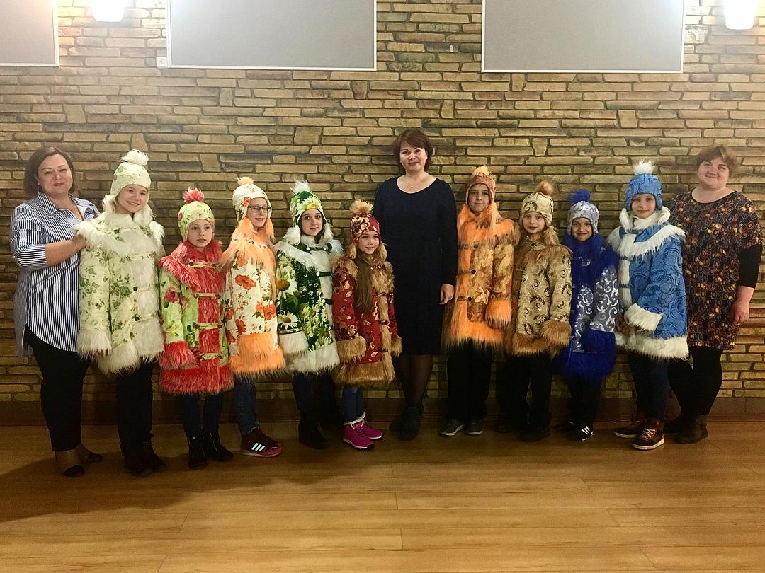 Клинские ребята готовятся отправиться в Великий Устюг в гости к Деду Морозу|MoiKlin.RU